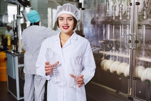 Production de bouteilles en plastique