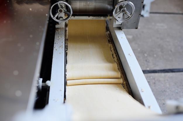 Production de nouilles instantanées