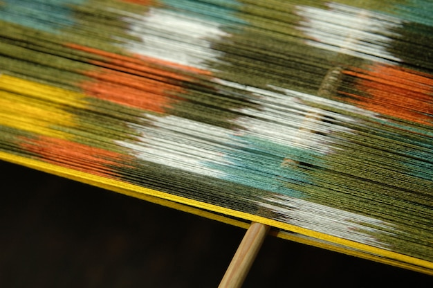 Production et tissage de tapis et tissus