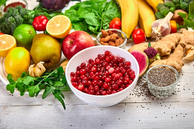 Produit d'assortiment riche en antioxydants et en vitamines