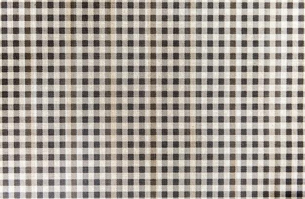 Produit industriel de tissu à carreaux à carreaux