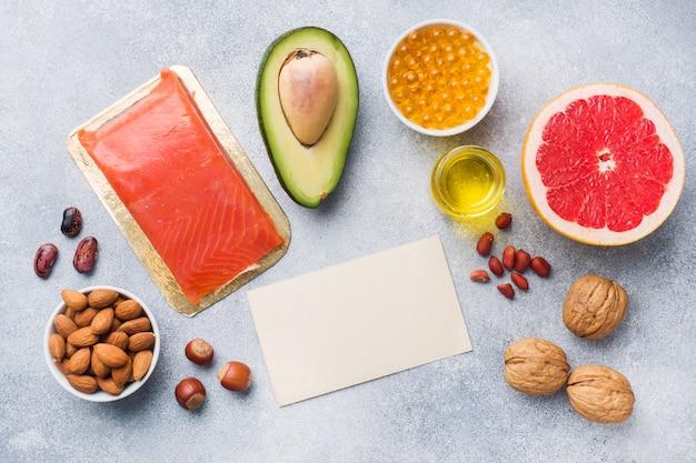 Produits alimentaires sains antioxydants