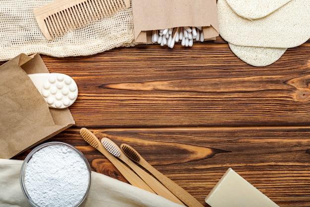 Produits de bain écologiques zéro déchet sans plastique