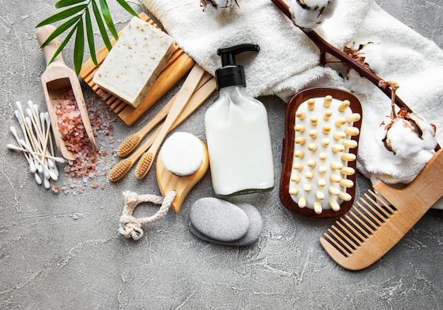 Produits cosmétiques naturels zéro déchet