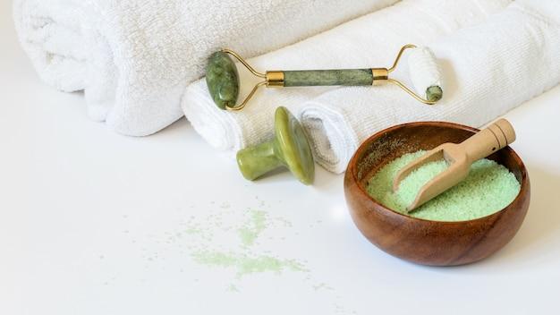 Produits gua sha jade gem and roller