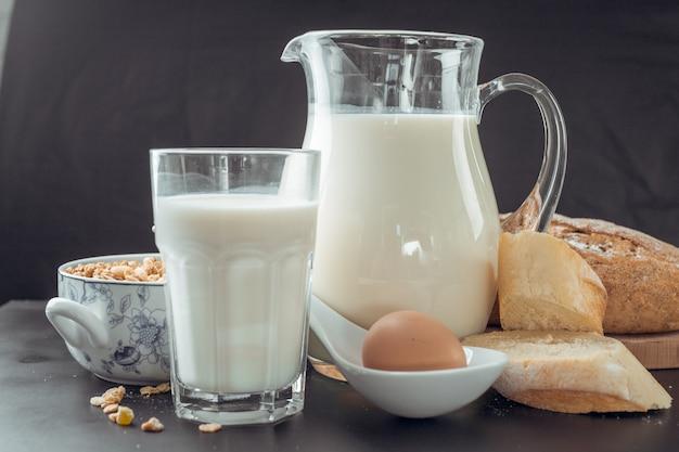 Produits laitiers et de boulangerie