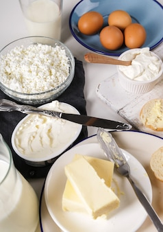 Produits laitiers, produits laitiers
