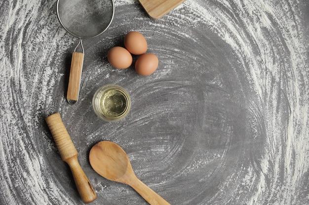 Produits pour la cuisson des produits de boulangerie.