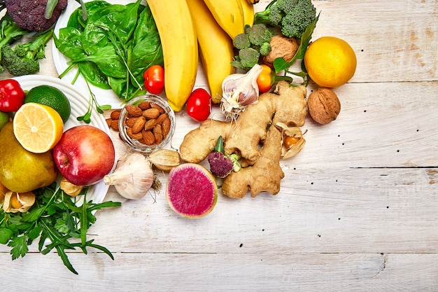 Produits riches en antioxydants et vitamines