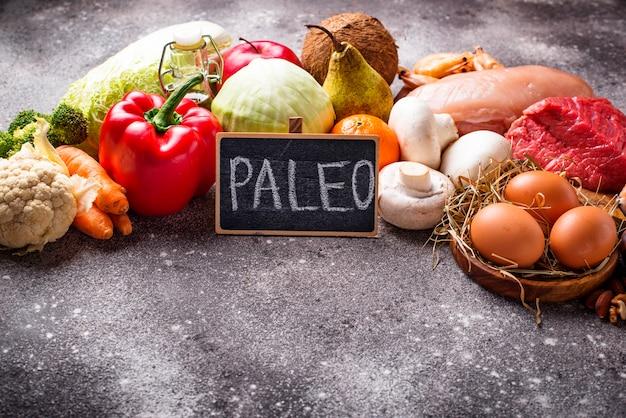 Produits sains pour le régime paléo