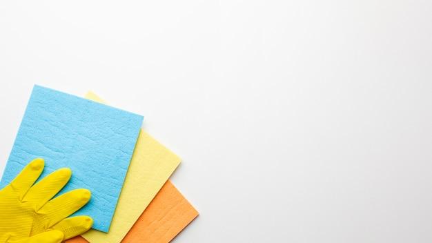 Produits sanitaires avec espace de copie