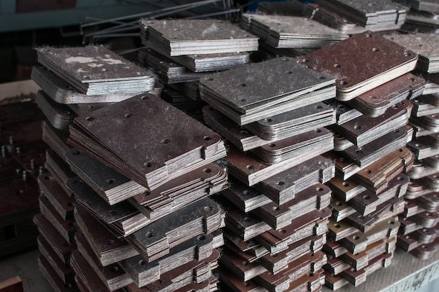 Produits semi-finis métalliques