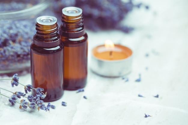 Produits de soin du corps à la lavande