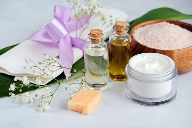 Produits de soins de la peau naturels spa