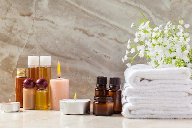 Produits de spa, concept de spa
