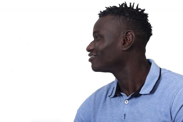 Profil d'un homme africain