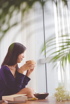 Profiter du café