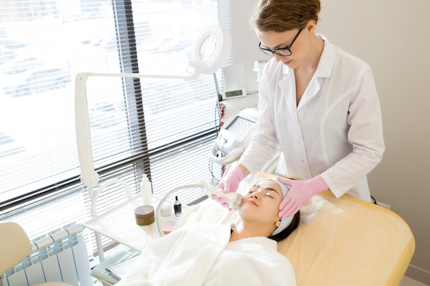 Profiter du massage du visage
