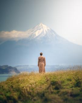Profiter de la vue en nouvelle-zélande