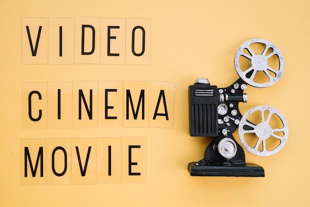 Projecteur de film avec