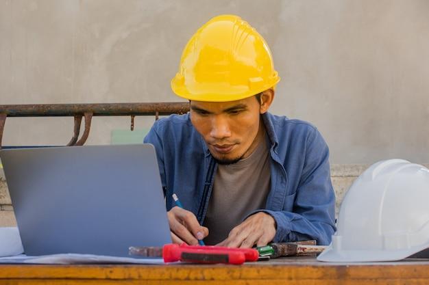 Projet de conception de travail de construction d'ingénieur d'architecte par la technologie graphique d'ordinateur