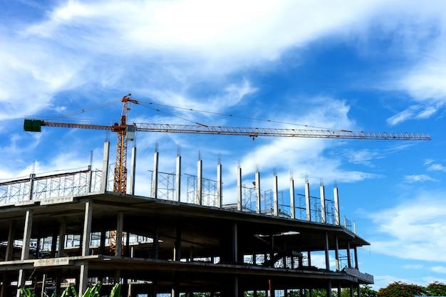 Projet de construction de bâtiment pour bulid