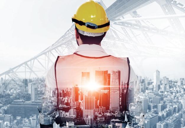 Projet d'ingénierie de la construction future.