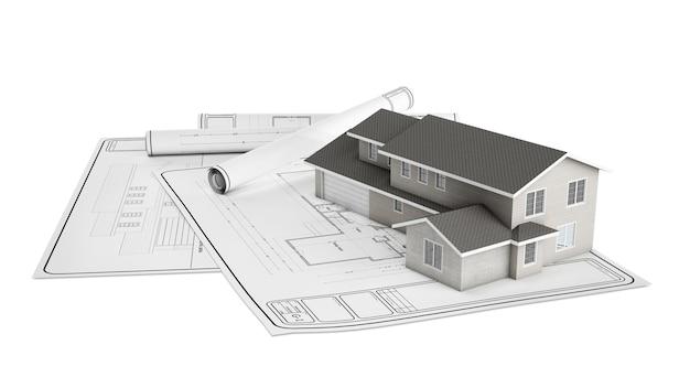 Projet maison en plastique