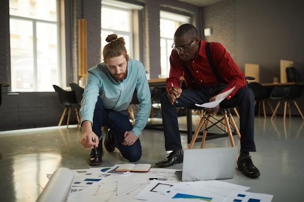 Projet de planification des hommes d'affaires
