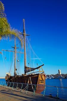 Promenade du port de gandia méditerranée valence