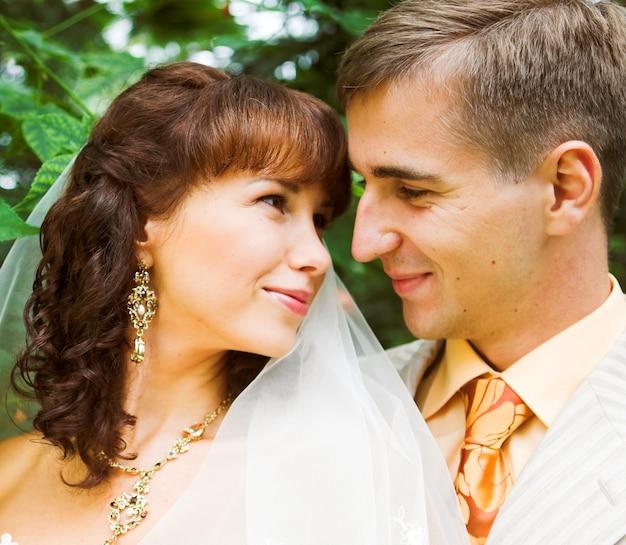 La promenade des jeunes mariés