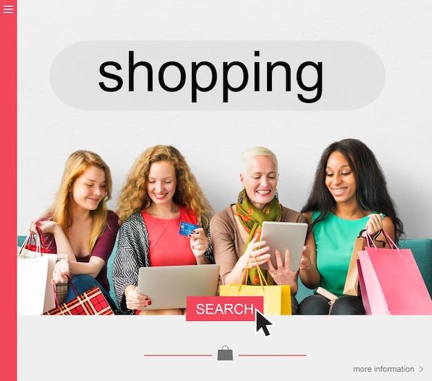 Promotion des ventes mode shopping remise