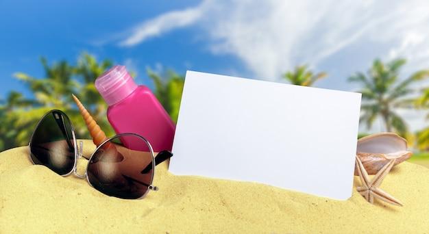 Protection contre le soleil sur la plage