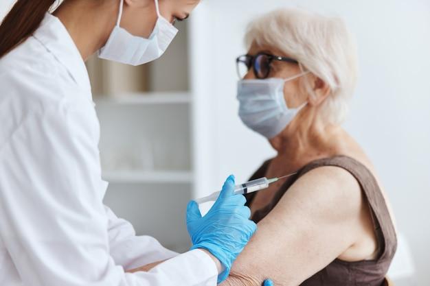 Protection de l'immunité de la sécurité de la vaccination des patients