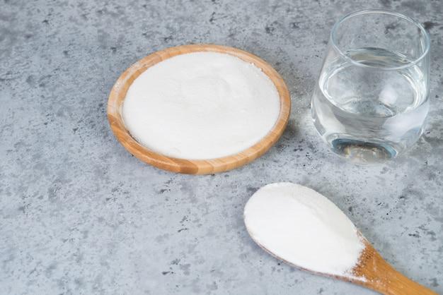 Protéine de collagène hydrolysée en poudre.