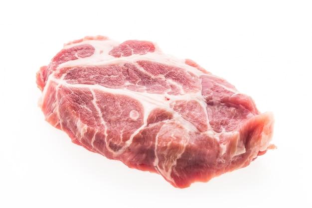 Protéines d'agneau régime de viande crue