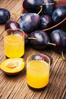 Prune boisson alcoolisée