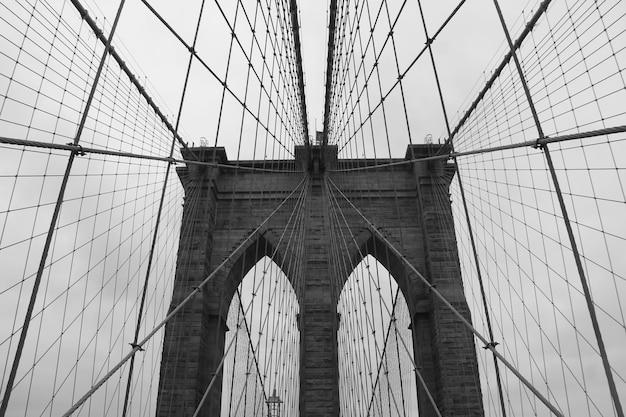 Puente de brooklyn nueva york estados unidos