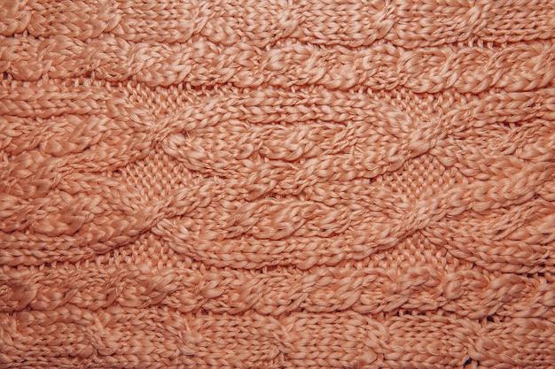Pull en laine ou texture écharpe se bouchent