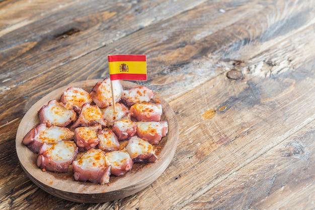 Pulpo à la gallega (poulpe tapa)