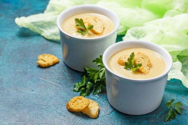 Purée de soupe aux légumes