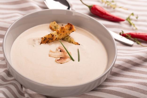 Purée de soupe