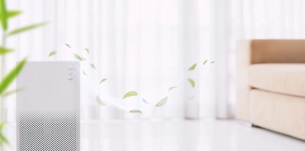 Purificateur d'air avec filtre pour nettoyer les poussières fines