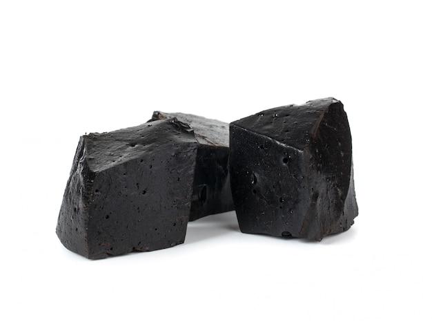 De purs blocs de réglisse.