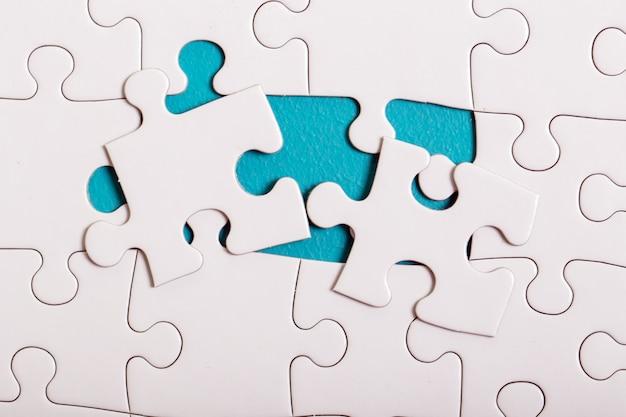 Puzzle blanc