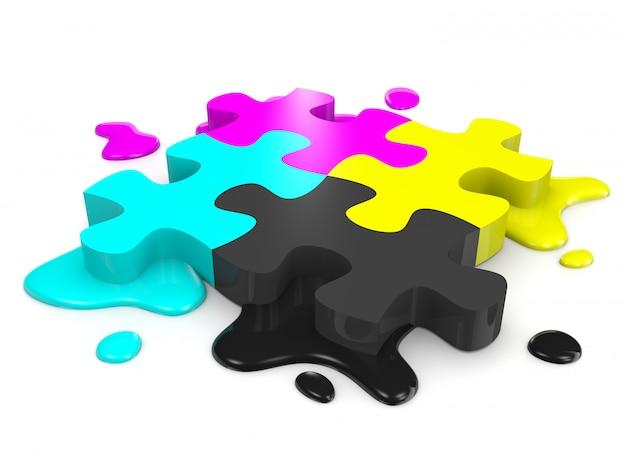 Puzzle cmjn