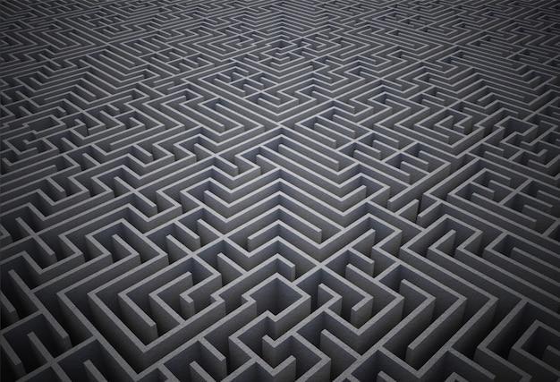Puzzle de labyrinthe difficile