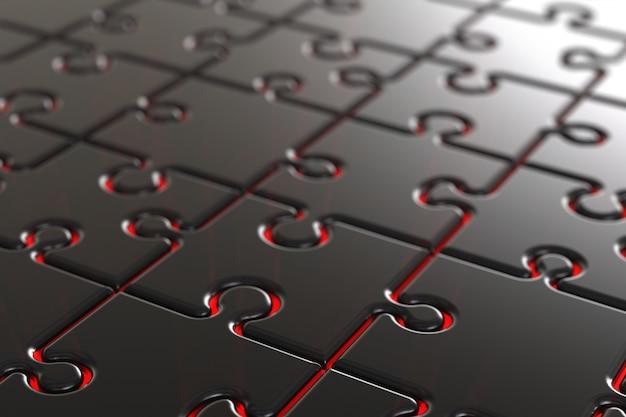 Puzzle en métal