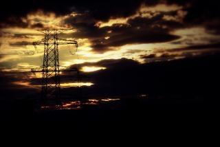 Pylônes nuageux