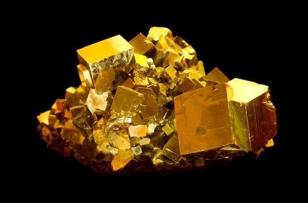 La pyrite minérale